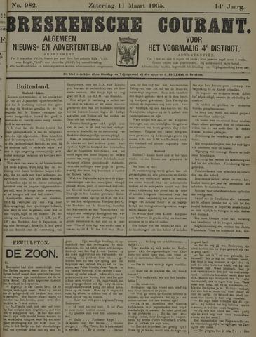 Breskensche Courant 1905-03-11