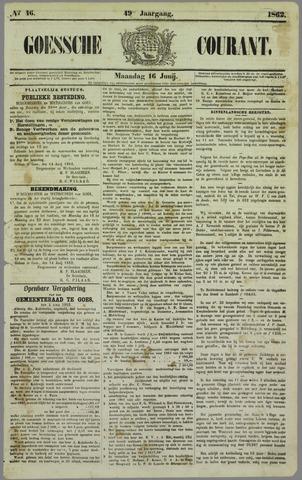 Goessche Courant 1862-06-16