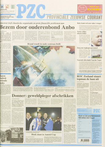 Provinciale Zeeuwse Courant 2003-10-29