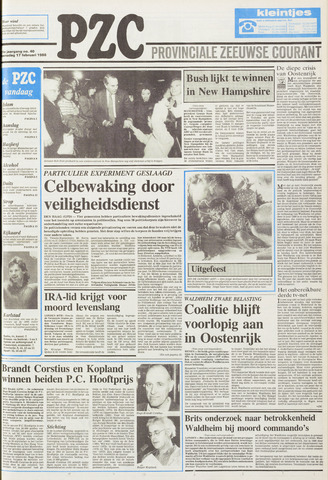 Provinciale Zeeuwse Courant 1988-02-17