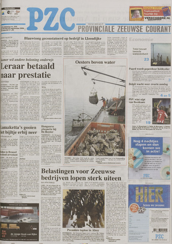Provinciale Zeeuwse Courant 2006-09-28