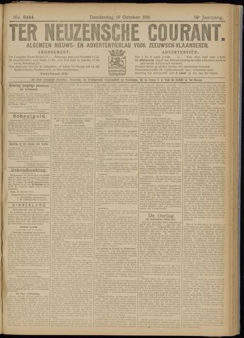Ter Neuzensche Courant. Algemeen Nieuws- en Advertentieblad voor Zeeuwsch-Vlaanderen / Neuzensche Courant ... (idem) / (Algemeen) nieuws en advertentieblad voor Zeeuwsch-Vlaanderen 1916-10-19