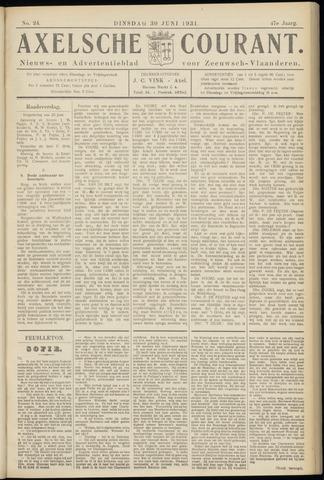 Axelsche Courant 1931-06-30