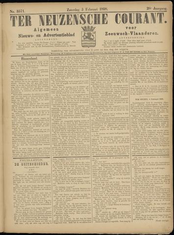 Ter Neuzensche Courant. Algemeen Nieuws- en Advertentieblad voor Zeeuwsch-Vlaanderen / Neuzensche Courant ... (idem) / (Algemeen) nieuws en advertentieblad voor Zeeuwsch-Vlaanderen 1898-02-05