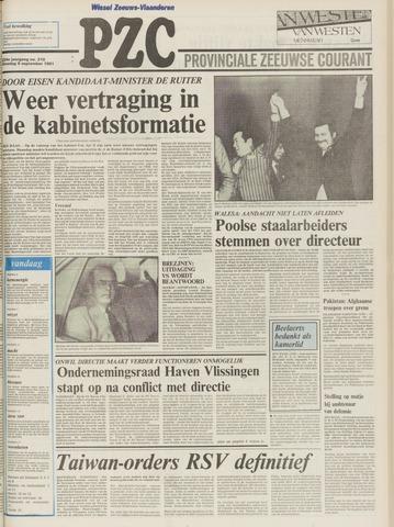 Provinciale Zeeuwse Courant 1981-09-09