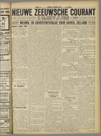 Nieuwe Zeeuwsche Courant 1923-08-28