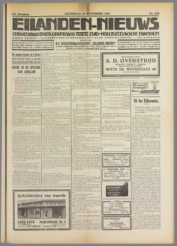 Eilanden-nieuws. Christelijk streekblad op gereformeerde grondslag 1940-11-23