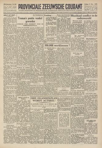 Provinciale Zeeuwse Courant 1946-11-08