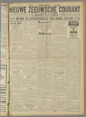 Nieuwe Zeeuwsche Courant 1924-04-26