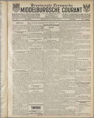 Middelburgsche Courant 1930-07-09