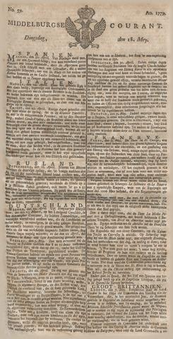 Middelburgsche Courant 1779-05-18