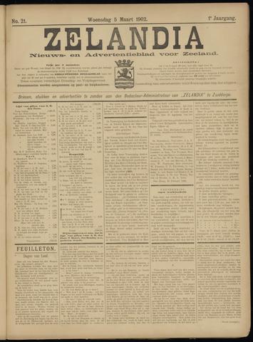 Zelandia. Nieuws-en advertentieblad voor Zeeland | edities: Het Land van Hulst en De Vier Ambachten 1902-03-05
