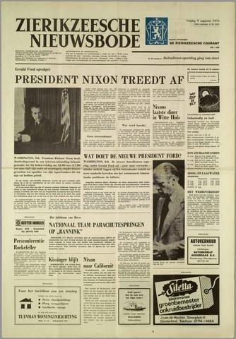 Zierikzeesche Nieuwsbode 1974-08-09