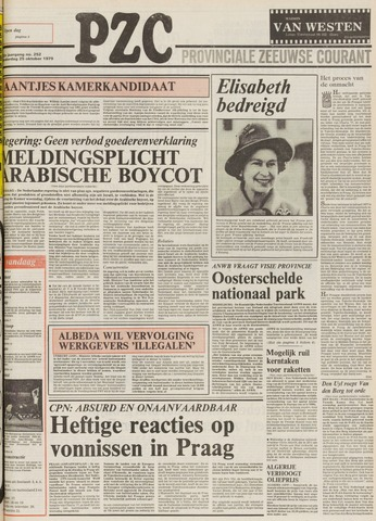 Provinciale Zeeuwse Courant 1979-10-25