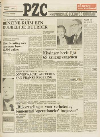 Provinciale Zeeuwse Courant 1974-02-28