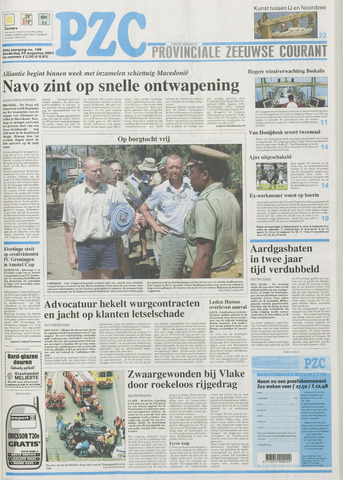 Provinciale Zeeuwse Courant 2001-08-23