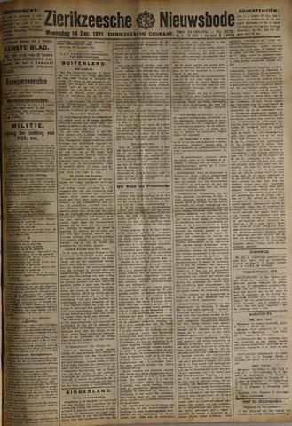 Zierikzeesche Nieuwsbode 1921-12-14