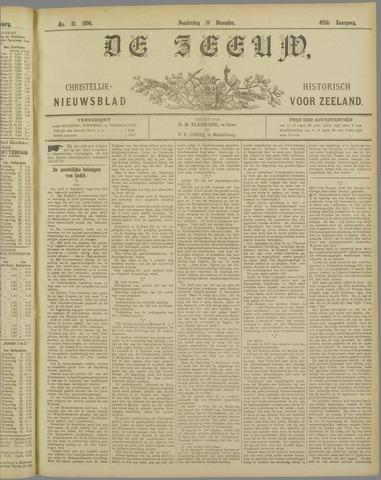 De Zeeuw. Christelijk-historisch nieuwsblad voor Zeeland 1896-12-10