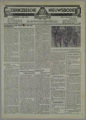 Zierikzeesche Nieuwsbode 1942-07-04