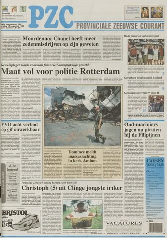 Provinciale Zeeuwse Courant 1999-08-13