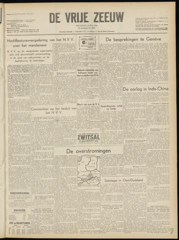 de Vrije Zeeuw 1954-07-19