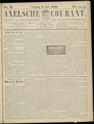 Axelsche Courant 1923-07-06