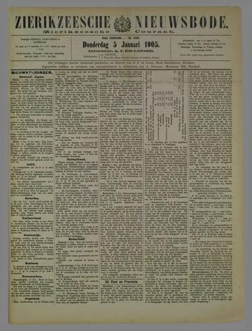 Zierikzeesche Nieuwsbode 1905-01-05