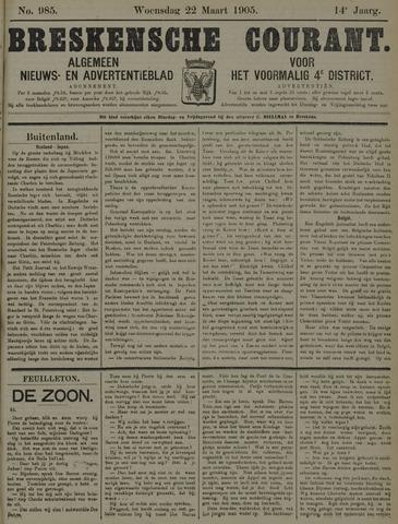 Breskensche Courant 1905-03-22