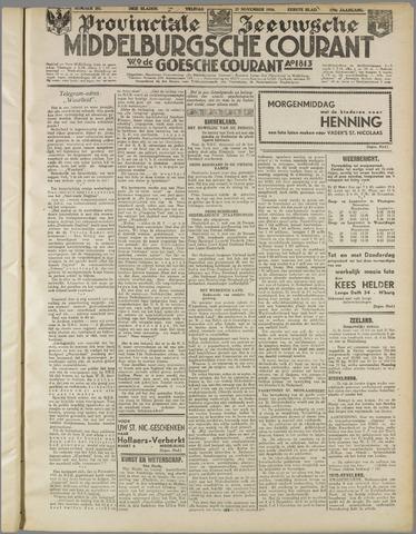 Middelburgsche Courant 1936-11-27