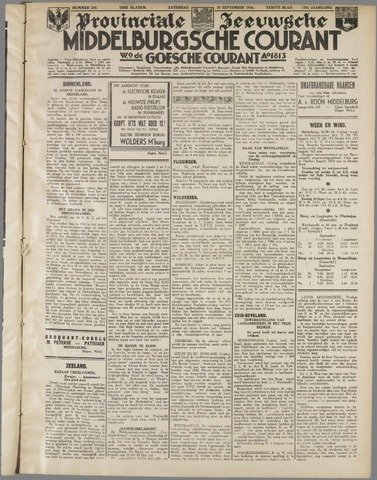 Middelburgsche Courant 1934-09-29