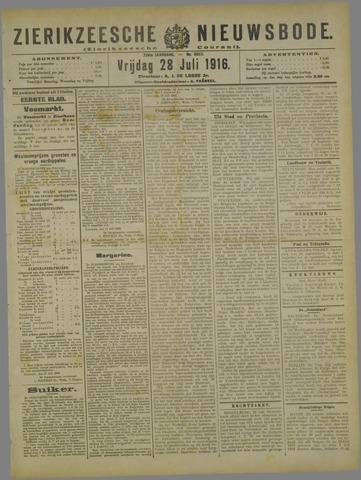 Zierikzeesche Nieuwsbode 1916-07-28