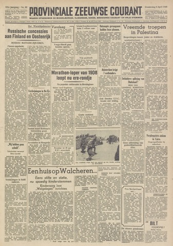 Provinciale Zeeuwse Courant 1948-04-08