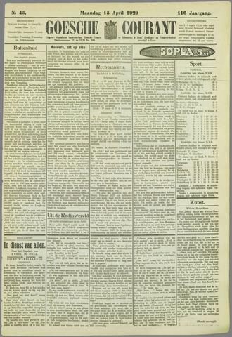 Goessche Courant 1929-04-15