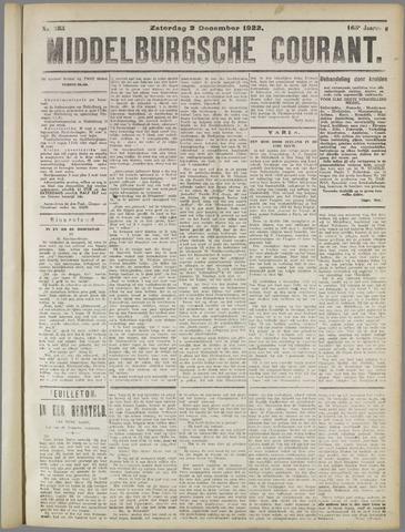 Middelburgsche Courant 1922-12-02