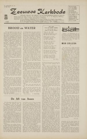 Zeeuwsche kerkbode, weekblad gewijd aan de belangen der gereformeerde kerken/ Zeeuwsch kerkblad 1966-05-27