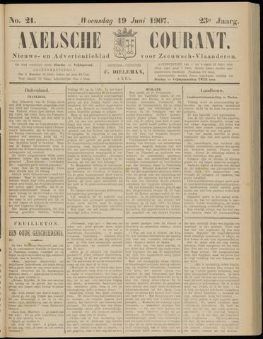 Axelsche Courant 1907-06-19