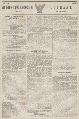 Middelburgsche Courant 1850-11-23
