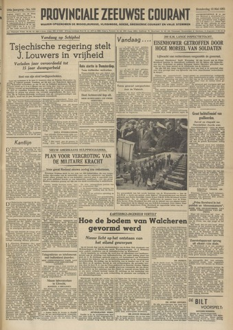 Provinciale Zeeuwse Courant 1951-05-10