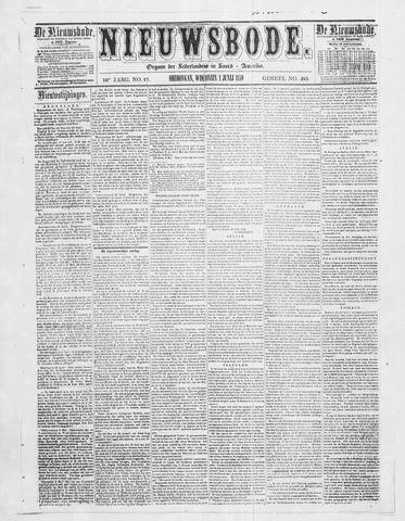 Sheboygan Nieuwsbode 1859-06-01