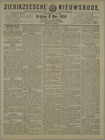 Zierikzeesche Nieuwsbode 1914-05-08