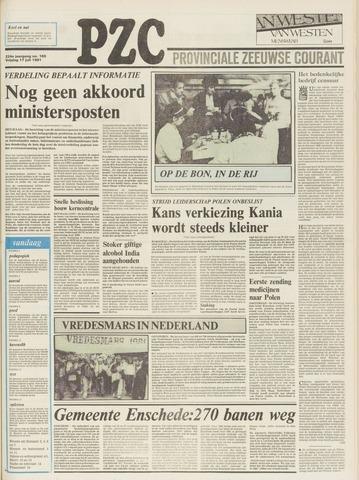Provinciale Zeeuwse Courant 1981-07-17