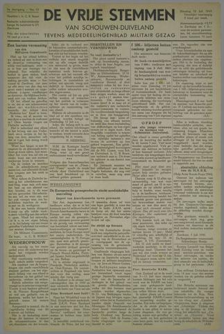 Zierikzeesche Nieuwsbode 1945-07-10