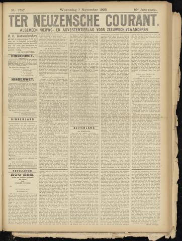 Ter Neuzensche Courant. Algemeen Nieuws- en Advertentieblad voor Zeeuwsch-Vlaanderen / Neuzensche Courant ... (idem) / (Algemeen) nieuws en advertentieblad voor Zeeuwsch-Vlaanderen 1923-11-07