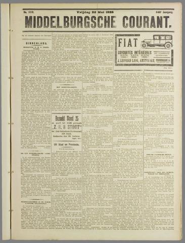 Middelburgsche Courant 1925-05-22