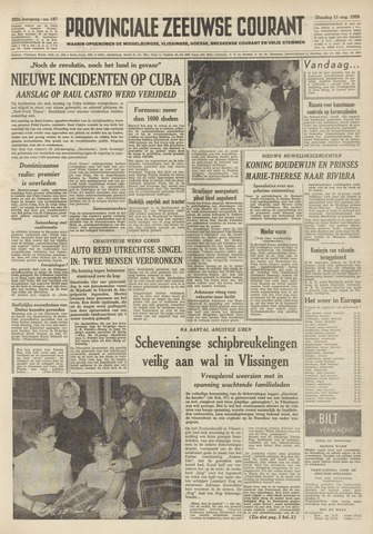 Provinciale Zeeuwse Courant 1959-08-11