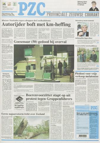 Provinciale Zeeuwse Courant 2001-11-09