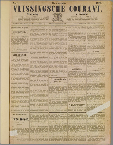 Vlissingse Courant 1899