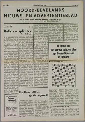 Noord-Bevelands Nieuws- en advertentieblad 1977-03-03