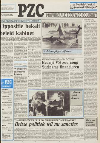 Provinciale Zeeuwse Courant 1986-07-31