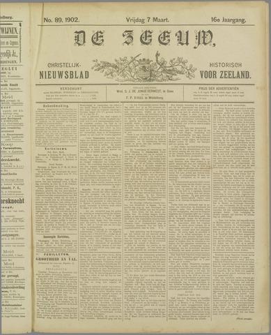De Zeeuw. Christelijk-historisch nieuwsblad voor Zeeland 1902-03-07